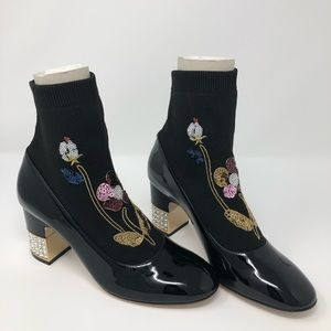 Gucci Black Sock Candy Booties NWT